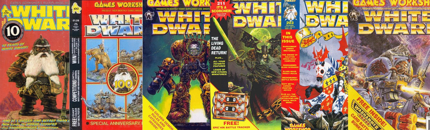 White Dwarf Volume 1